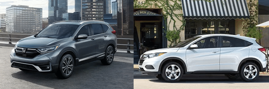 2021 Honda CRV or the 2021 Honda HRV which is right for you?