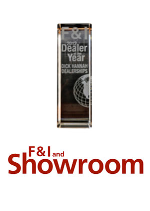 F&I 2012 National Dealer of the Year